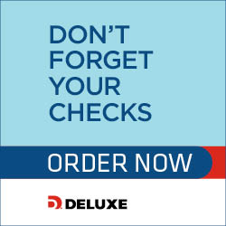Reorder Deluxe Personal Checks
