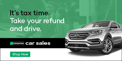 It's tax time. Take your refund and drive. Enterprise Car Sales. Shop Now.