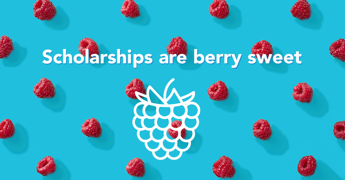 Scholarships are berry sweet