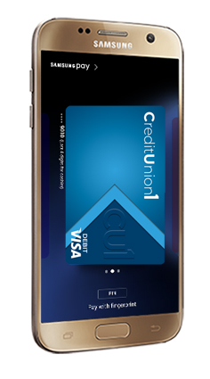 Samsung Pay on Phone Screen